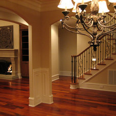 Traditional Staircase by Sterling Construction, Inc.