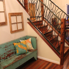 Eclectic Staircase by Chrome Dome Designs Ltd