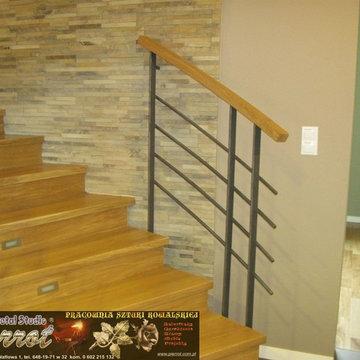Wrought iron railing - balustrada kuta - 13