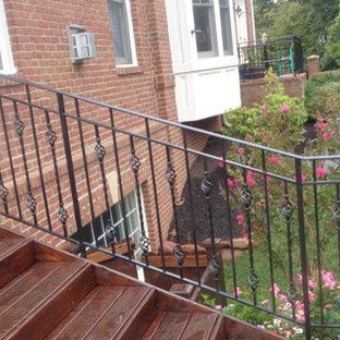 Staircase - craftsman staircase idea in DC Metro