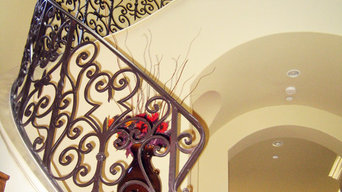 Wrought Iron Stairs