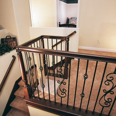 Traditional Staircase by TRUADDITIONS