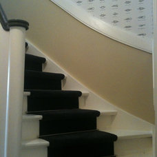 Traditional Staircase by DIA Design