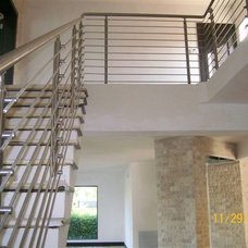 Contemporary Staircase by Stair system store