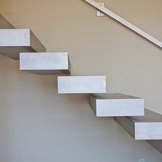 Contemporary Staircase by miller design