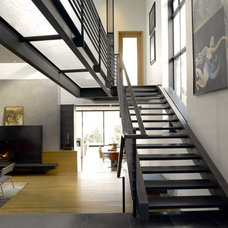 Modern Staircase by Lane Williams Architects