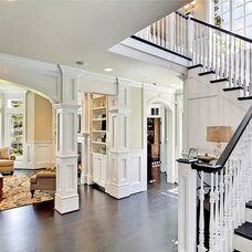 Traditional Staircase by JD Bergevin Homes, Inc.