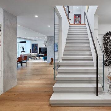 Yorkville Condo - Custom Stairs