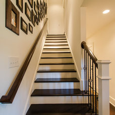 Traditional Staircase by Crosby Creations Drafting & Design Services, LLC