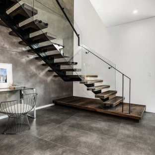 This is an example of a contemporary staircase in Sydney.