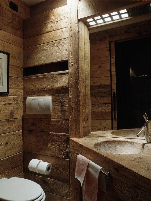 Foto e Idee per Bagni - bagno in montagna