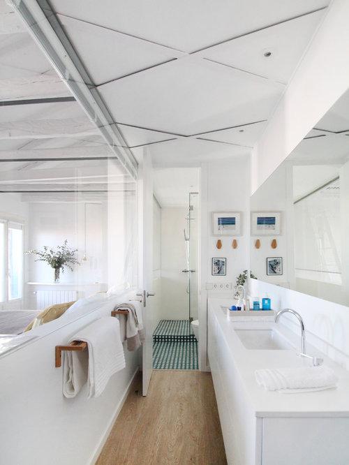 Fotos de baños   Diseños de baños con baldosas y/o azulejos de porcelana