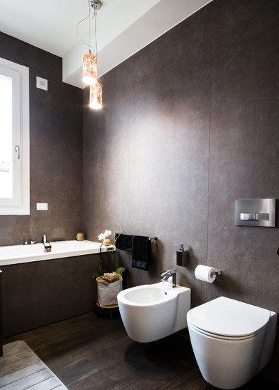 Il bagno in stile industriale che piace agli italiani - Bagno stile industriale ...