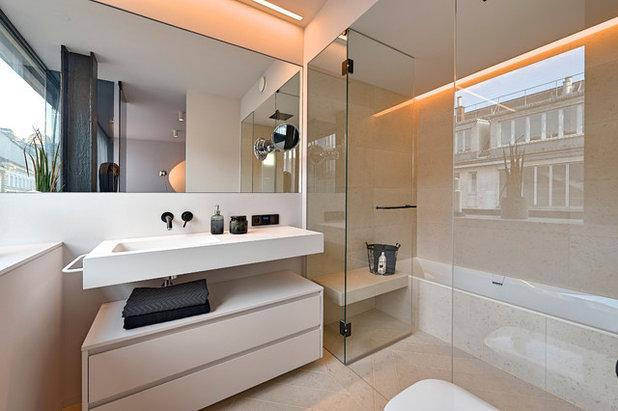 Contemporaneo Stanza da Bagno by FADD Architects