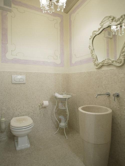 Awesome foto di una stanza da bagno classica con - Ceramiche bagno classico ...