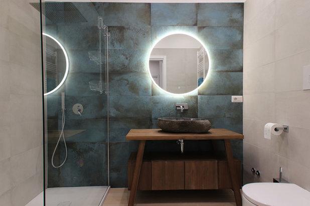 """Contemporaneo Stanza da Bagno by Studio di Progettazione e Design """"architè"""""""