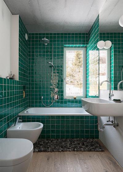 Contemporary Bathroom by Christian Schwienbacher