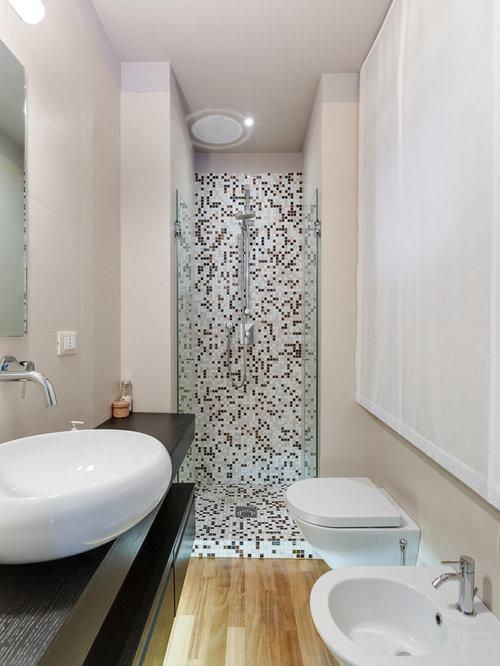 Foto e idee per stanze da bagno stanza da bagno moderna - Fotos van salle d eau ...