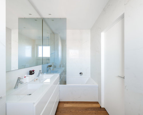 Bagno foto idee arredamento - Piastrelle bagno bianche ...