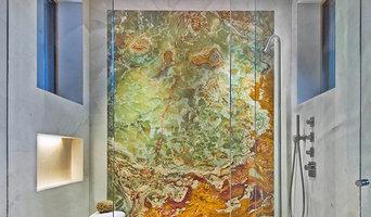 Bagni in marmo, granito e pietra