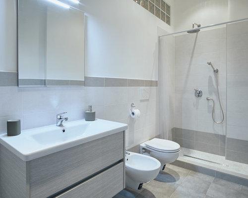 Foto e idee per stanze da bagno stanza da bagno moderna for Stanza da bagno