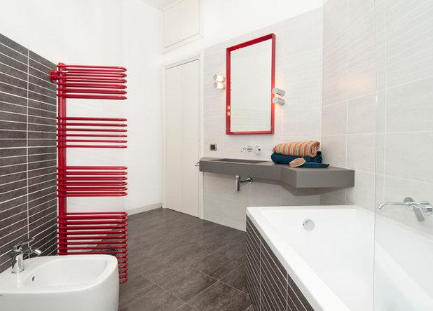 Vasca Da Bagno Trapezoidale : Dove posizionare i sanitari in base alla forma del bagno
