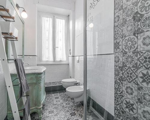 Shabby-Chic-Style Badezimmer Ideen, Design & Bilder | Houzz