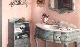 Bathroom in venetian style - Bagno stile veneziano