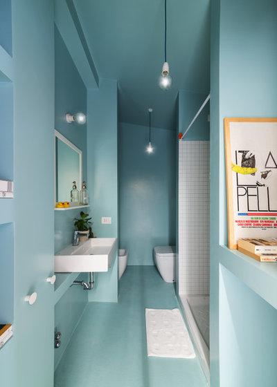 Scandinavian Bathroom by studio wok