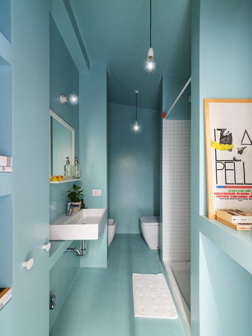 Colori per le pareti del bagno - Foto e idee | Houzz