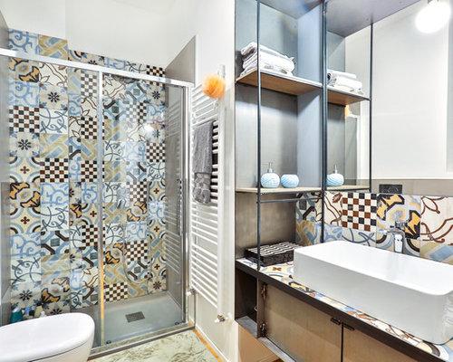 Badrum badrum medelhavs : Foton och badrumsinspiration för medelhavsstil badrum, med en ...