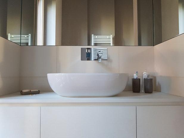 Rifare il bagno grazie a houzz mq nuovi con lavanderia annessa