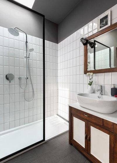 Industrial Bathroom by sm*s stefaniamicottistudio