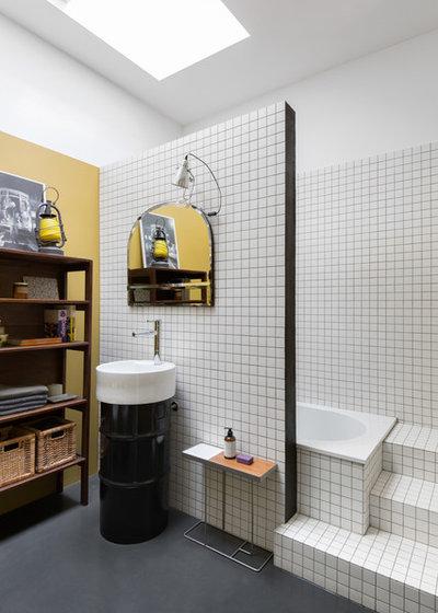 インダストリアル 浴室 by sm*s stefaniamicottistudio