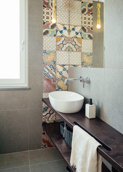 Contemporaneo Stanza da Bagno by manuarino architettura design comunicazione.