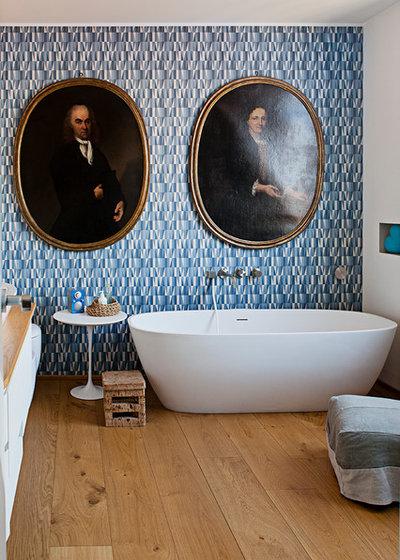 Eklektisch Badezimmer by cecilia avogadro