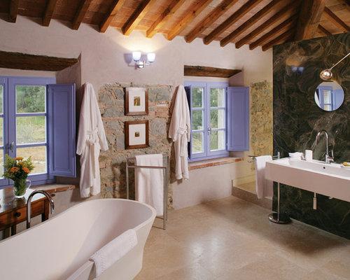 Bagno in campagna foto idee arredamento for Bagno di campagna francese