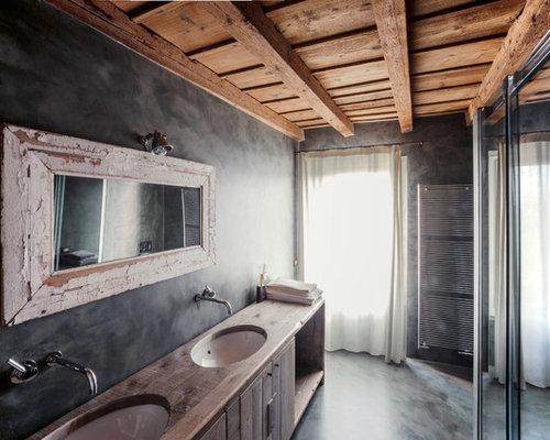Idee e foto di stanze da bagno in campagna for Bagno di campagna francese