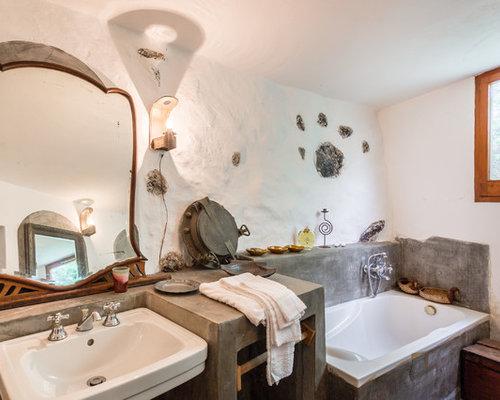 Dimensioni Medie Vasca Da Bagno : Stanza da bagno padronale di medie dimensioni foto idee