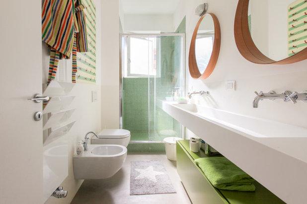 Brillanti esempi di progetti con una finestra nella doccia