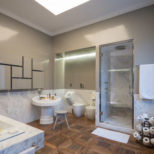 Ispirazione per una stanza da bagno design