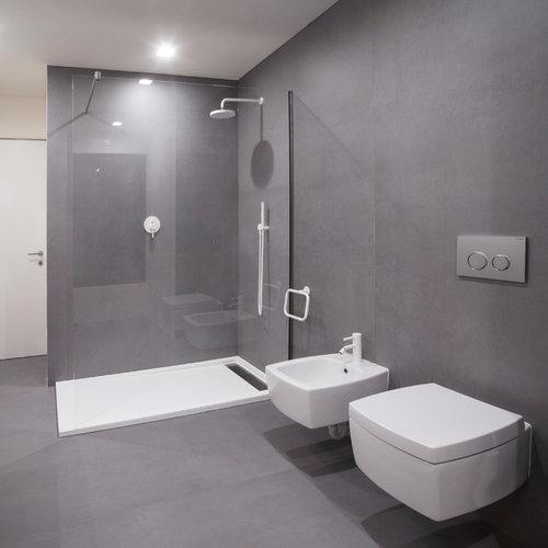 foto e idee per bagni - bagno moderno - Bagno Piccolo Moderno