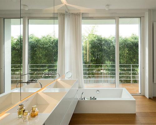 Stanza da bagno contemporanea foto idee arredamento for Stanza da bagno