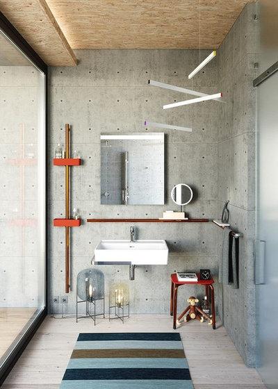 mini guida per realizzare un bagno effetto cemento