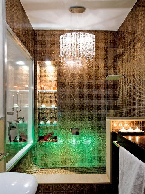 Idee Bagno Piastrelle Mosaico : Bagno idee e foto mosaico