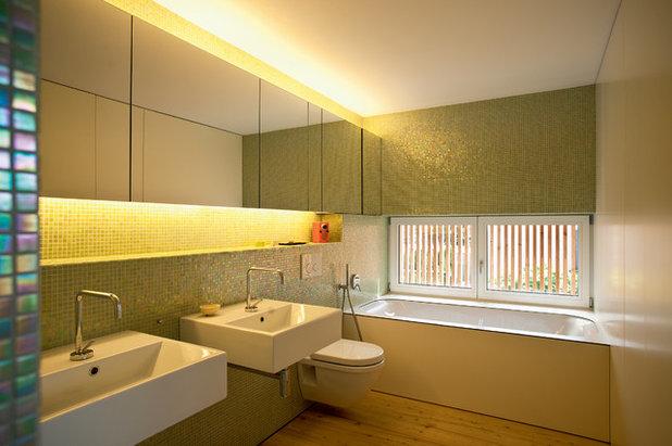 Modern Badezimmer by elanandez