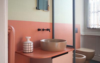 Come Si Chiama Vasca Da Bagno In Inglese : 9 idee per rendere un piccolo bagno più funzionale e bello