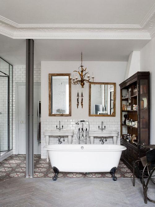Salle de bain éclectique : Photos et idées déco de salles de bain