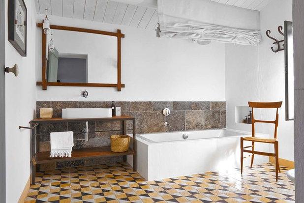 Bagno In Pietra Leccese : Come creare con la pietra atmosfere raffinate in bagno