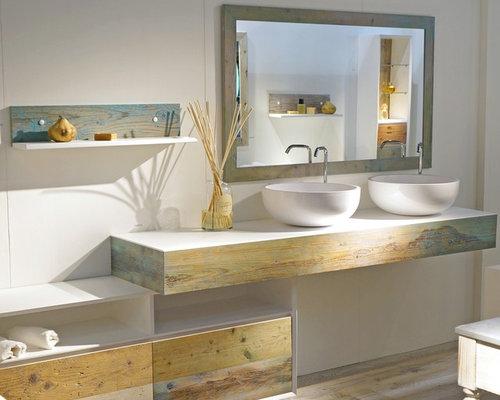 Mediterranean style bathroom realizzazione bagno stile for Bagno in stile mediterraneo